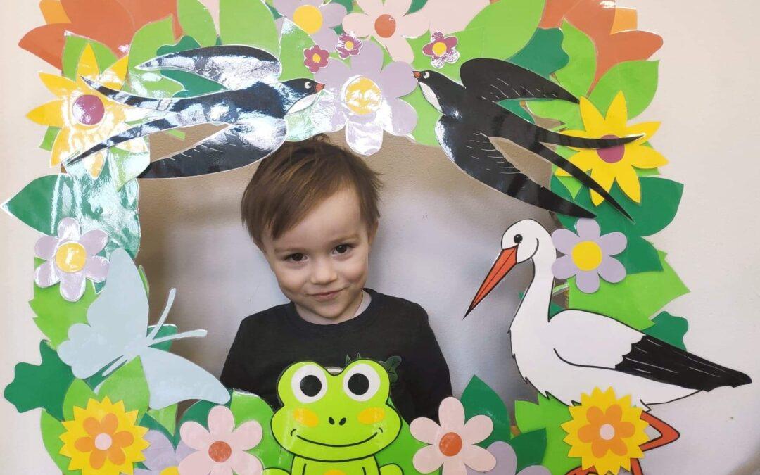 Wiosenna fotobudka (Pingwinki iMisie)
